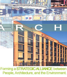 Forming a STRATEGIC ALLIANCE between People, Architecture, and the Environment.
